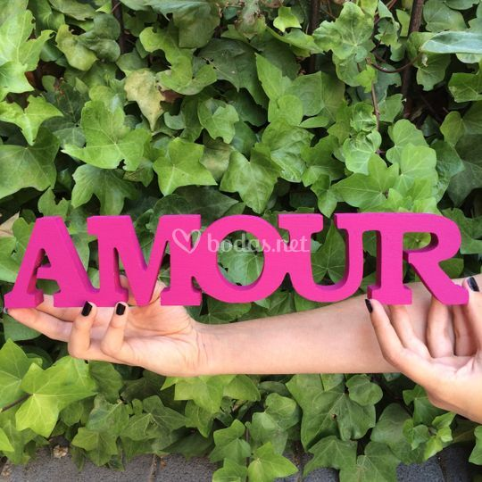 Letras amour