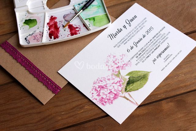 Invitaciones boda originales