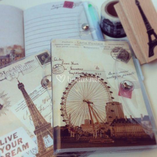 Libreta de París y Londres