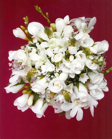 Bouquet blanco