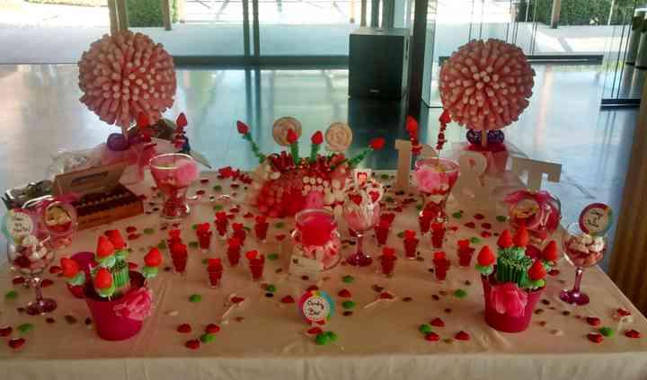 Candy bar para boda