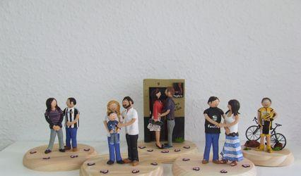 Ya no sé qué regalar - Figuras para la tarta