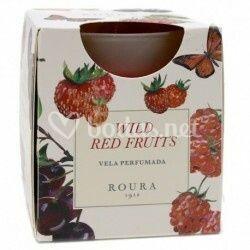 Vela de frutos rojos