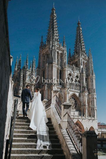 Boda en la Catedral de Burgos