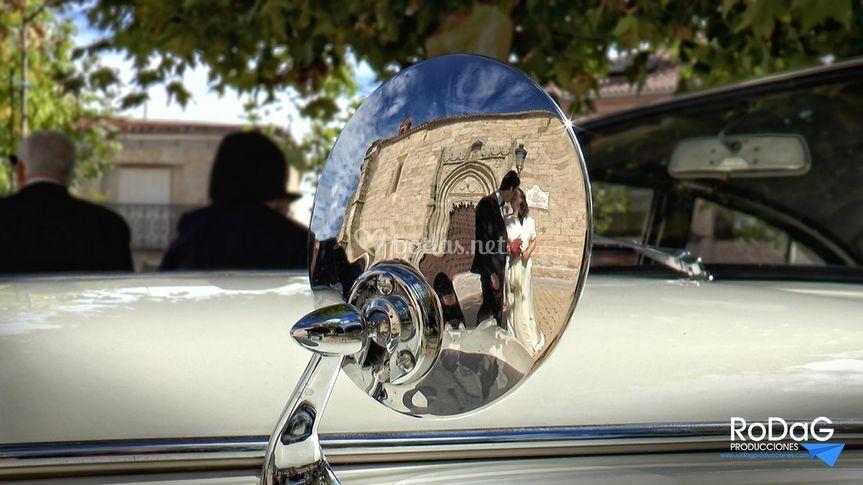 Espejo de Rolls Royce