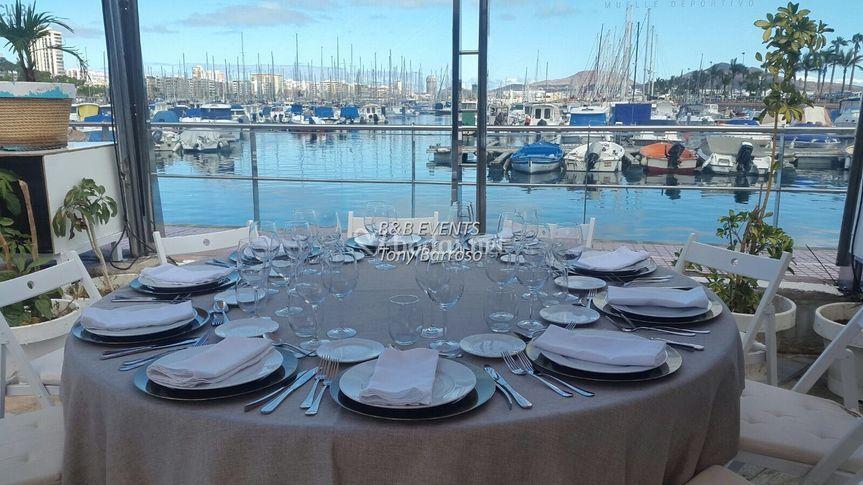EL mar en la mesa