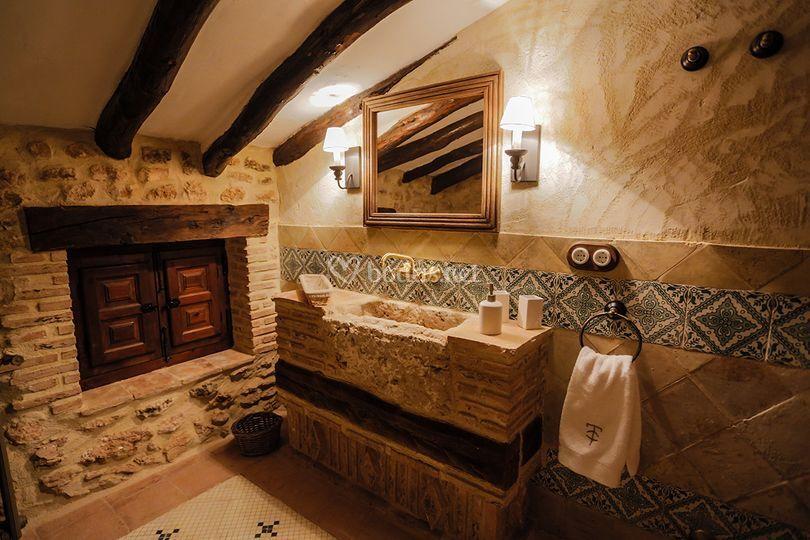 Baño alojamiento