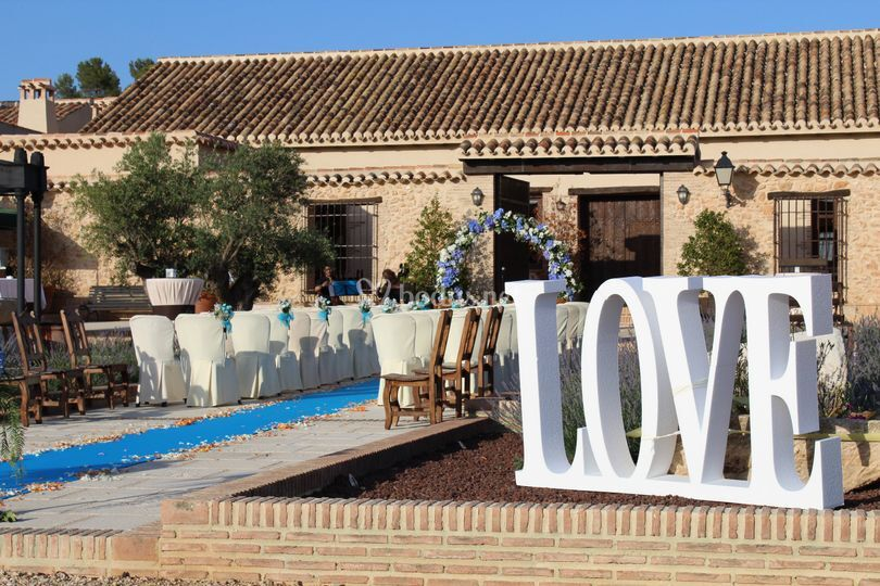 Ceremonia Civil Love de Cortijo Trifillas