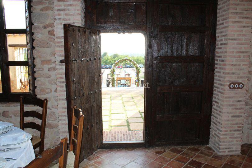 Puerta Salón Principal