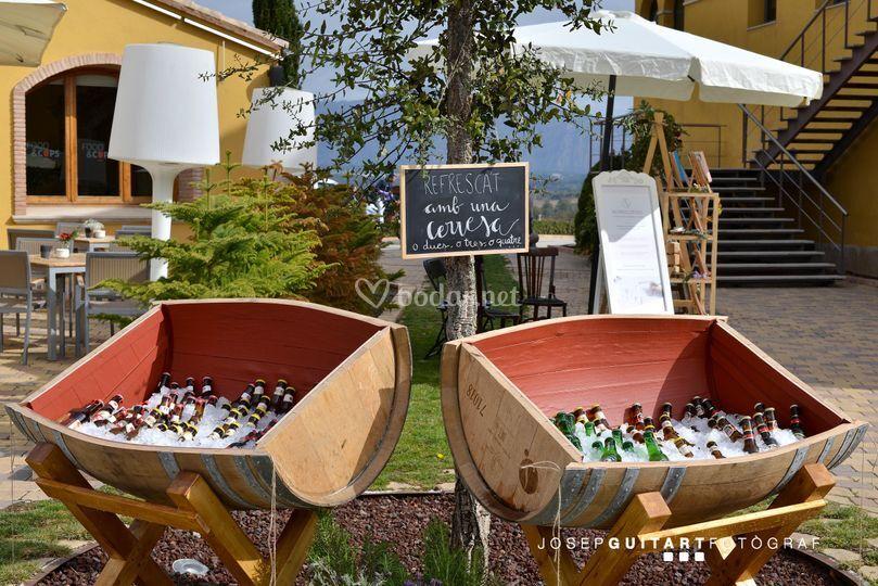 Buffet de cervezas