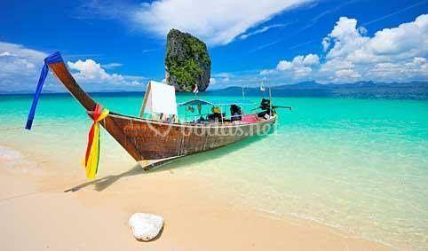 Isla de Krabi Thailandia
