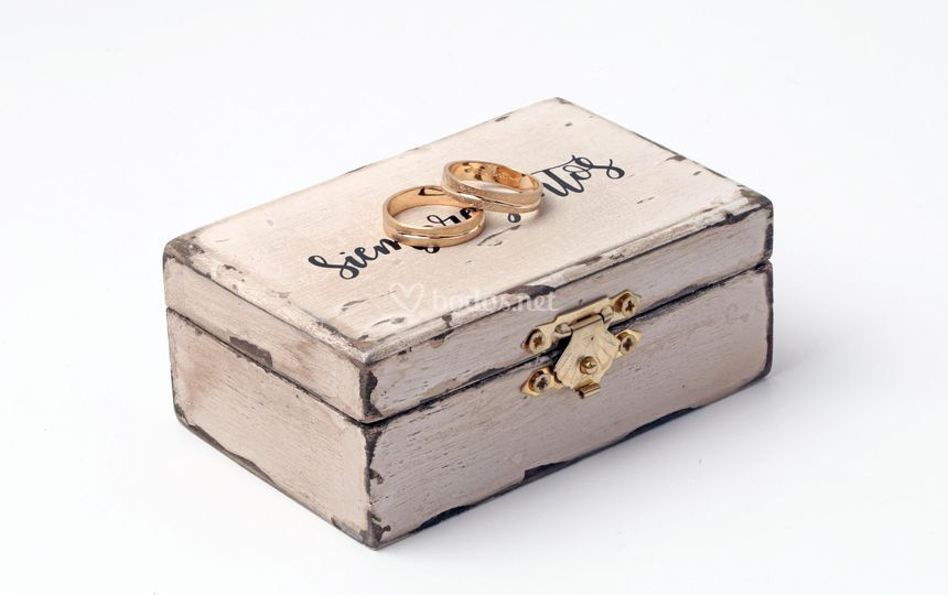 Porta alianzas vintage