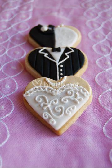 Galletas de boda