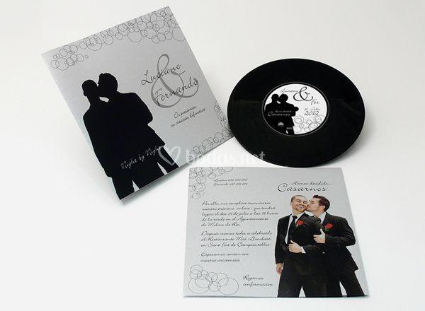 Invitación disco