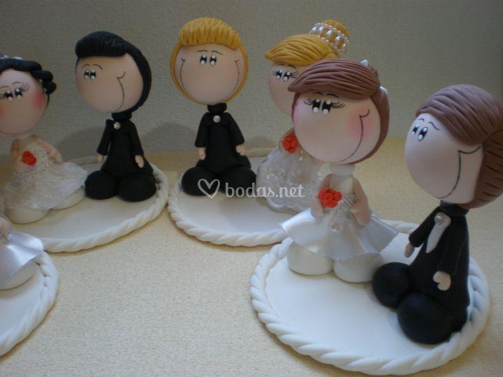 Novios para boda