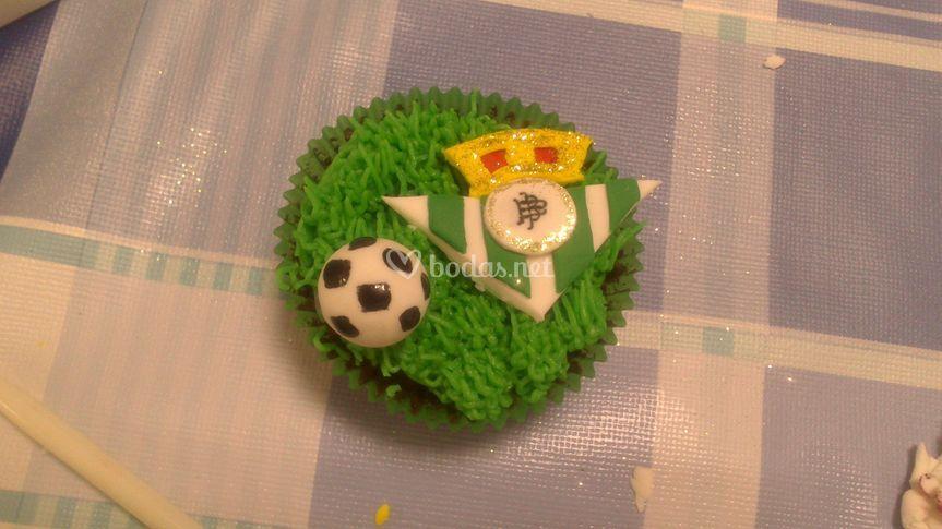 Cupcake futbol