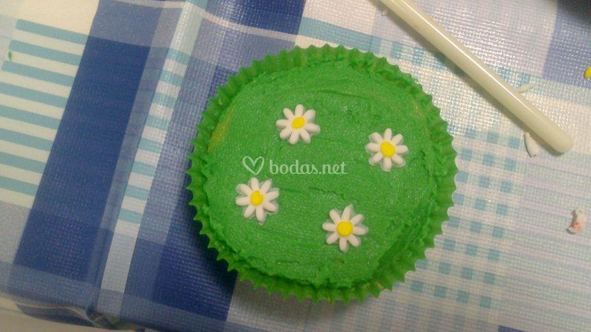 Cupcake sin fondant