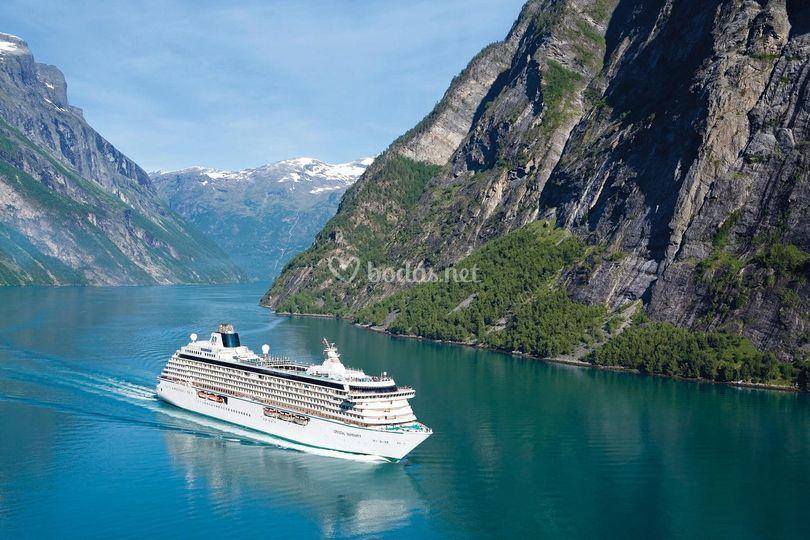 Cruceros en los Fiordos