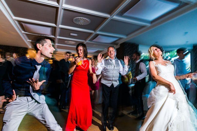 La boda es una fiesta