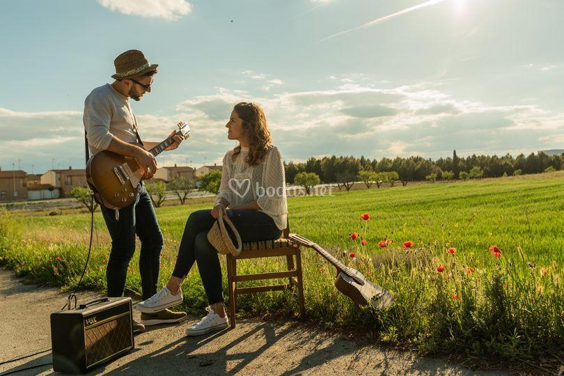 La música enamora