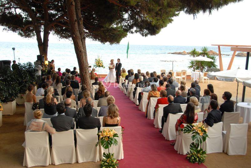 Ceremonias junto al mar