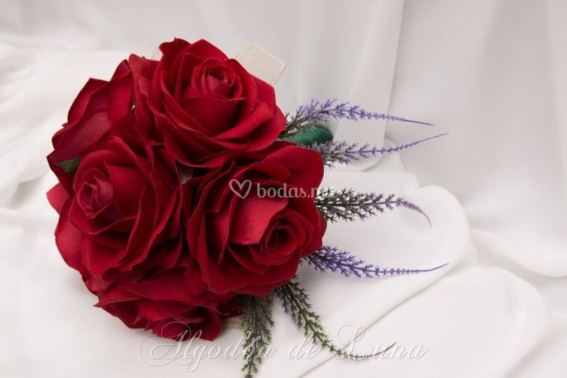 Ramos de flores de tela
