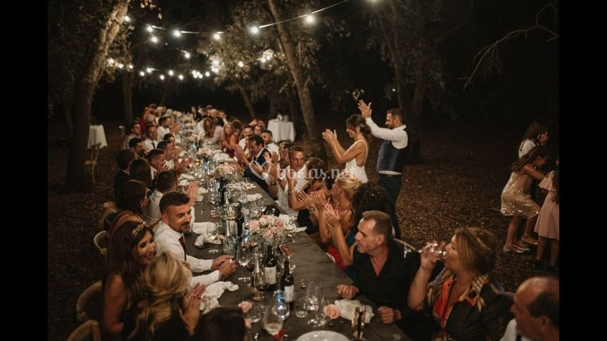 Banquete Bosque Encinas