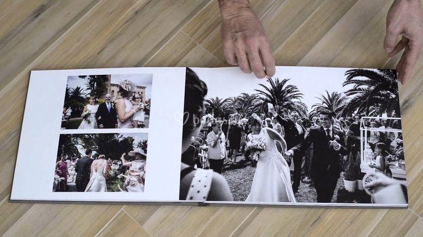 Álbum de bodas profesional