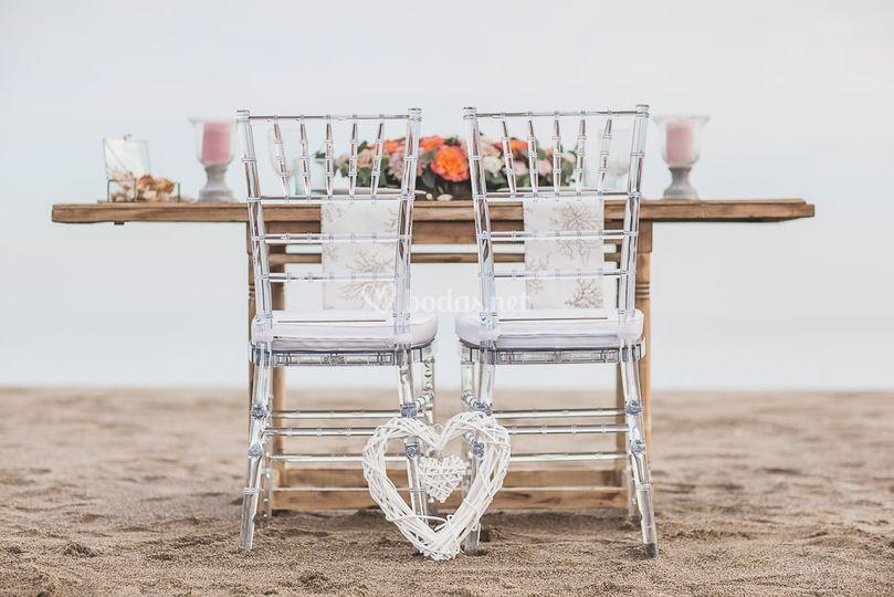 Boda íntima en la playa