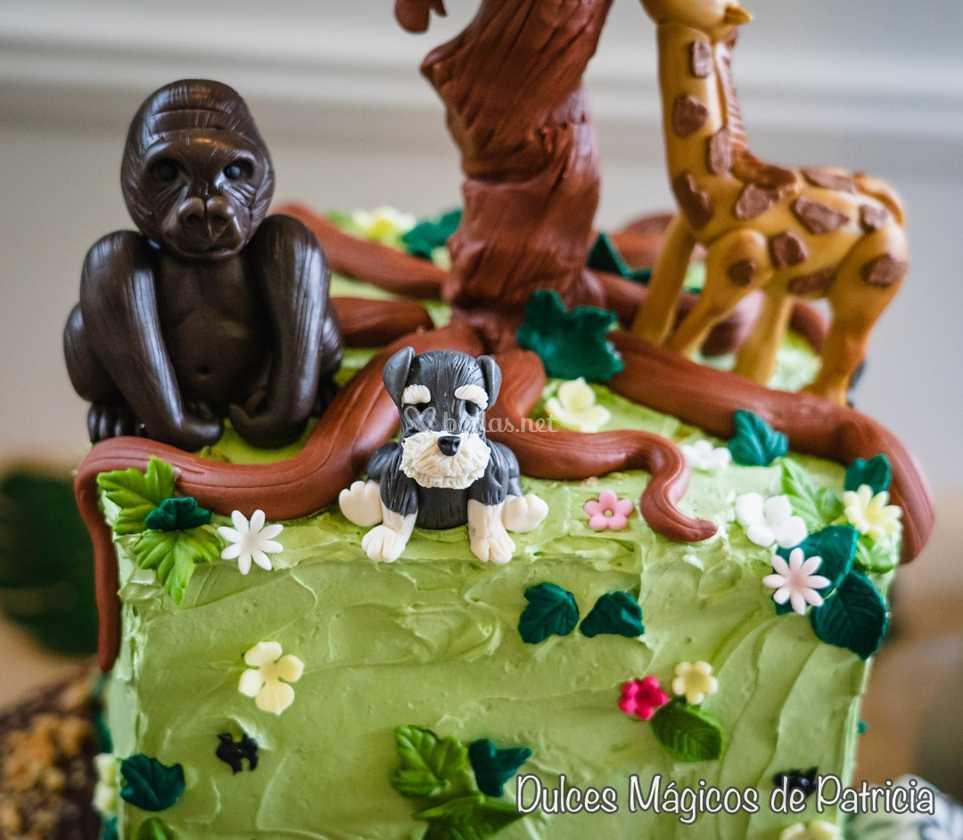 Animales tarta