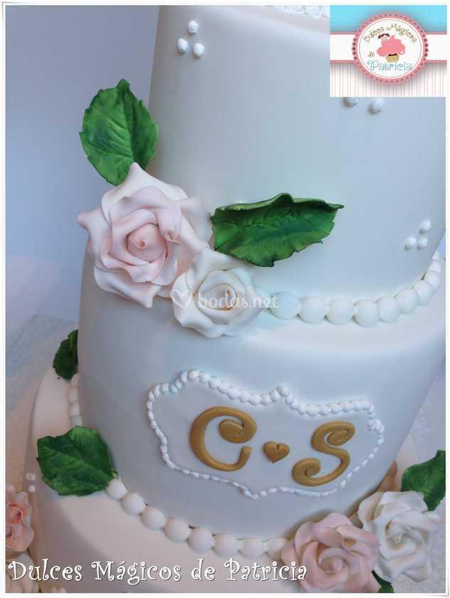 Tarta boda blanca