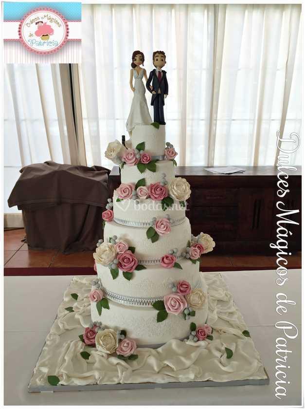 Tarta de boda Fuentepizarro