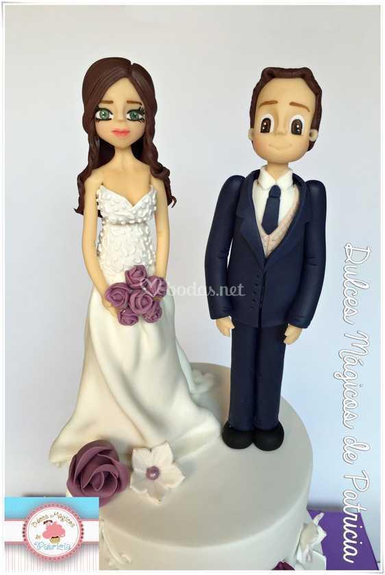 Figuras novios boda