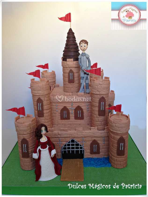 Tarta Castillo medieval
