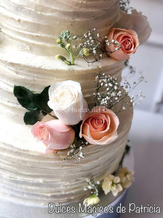 Flores tarta