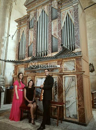 Concierto con órgano