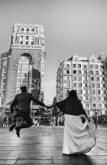 Callao ,Madrid. Juan Aunión