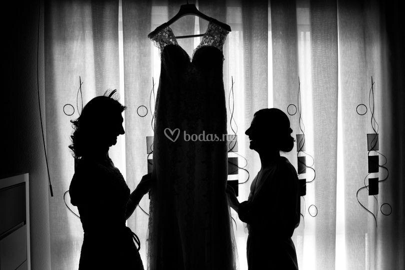 La novia con mama