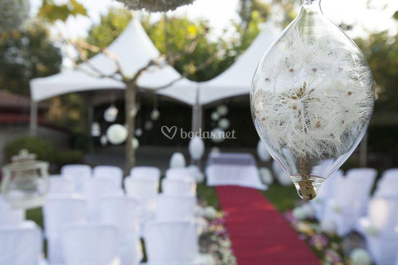 Jardin para Ceremonia