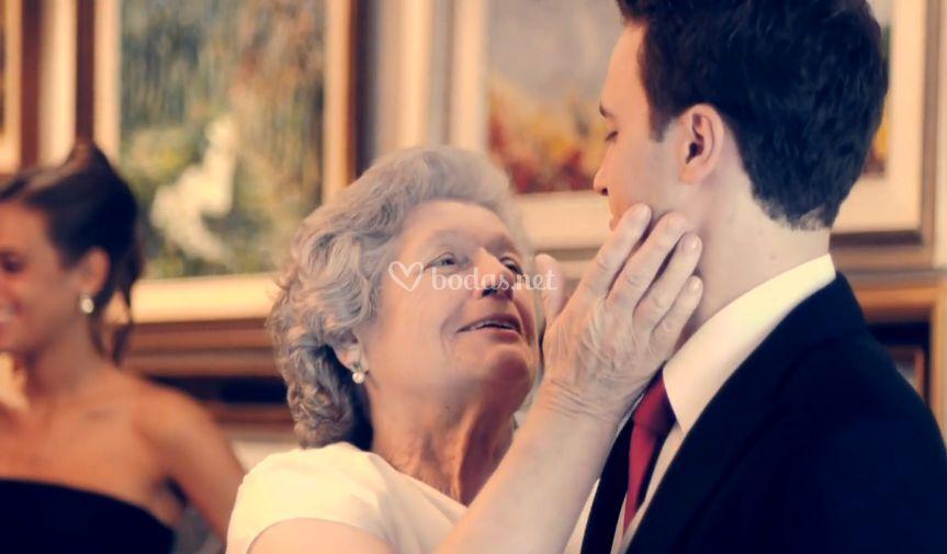 Javi y su abuela