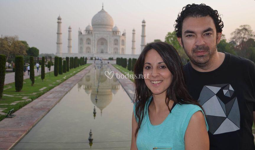 Agra, la India