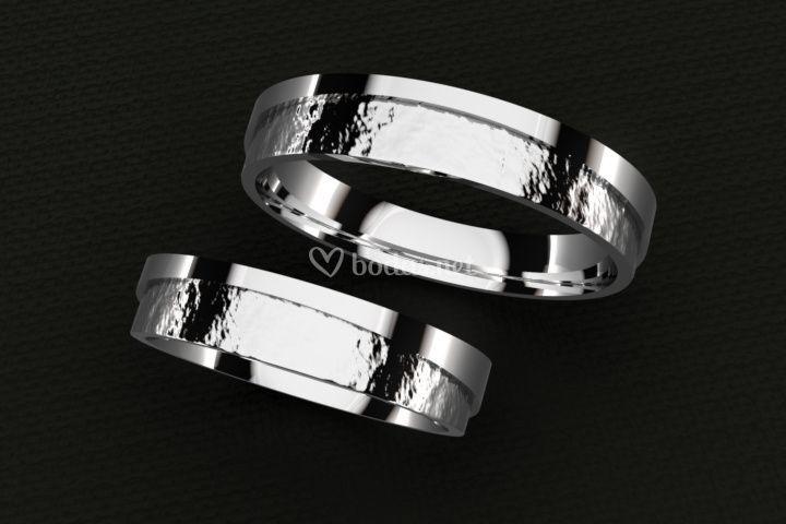 Alianza boda ella - el