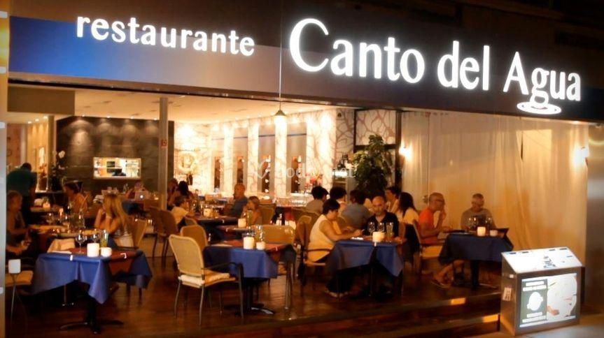 Frente del restaurante