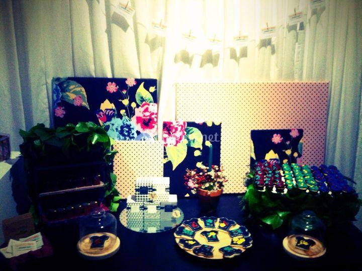 Candy Bar de botánica