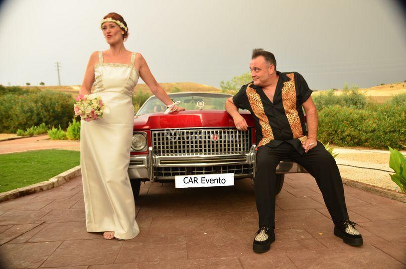 Boda temática Cadillac