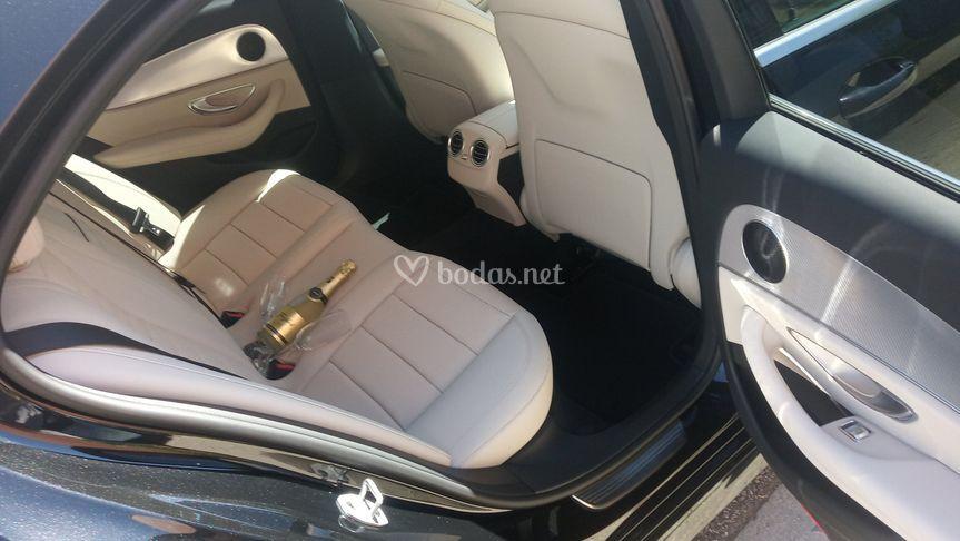 Interior de Mercedes