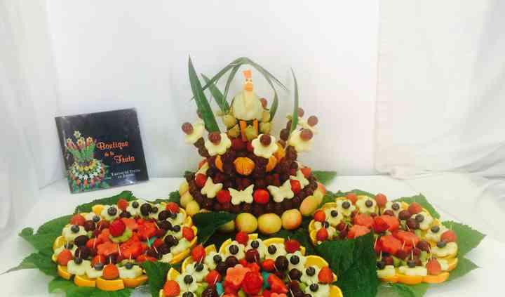 Candy bar fruit cigueña