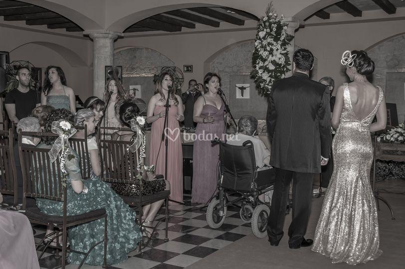 Góspel en boda civil