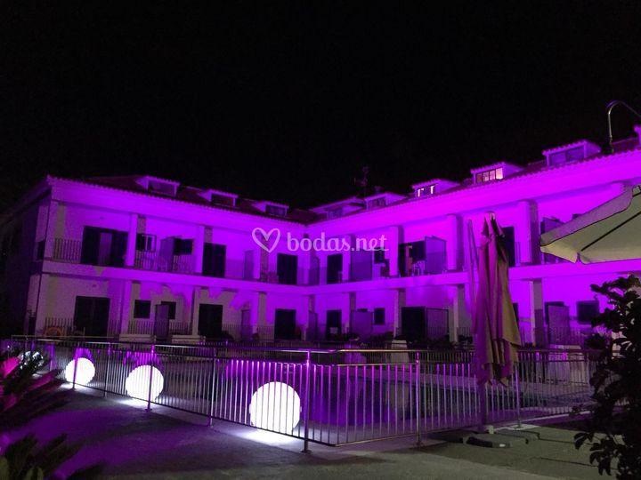 Fachada Hotel Bandama Golf