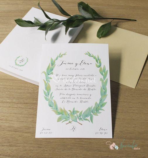 Invitación colección botánica